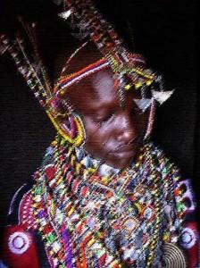 Maasai Bride