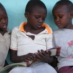 masai, children, read, book, mother-tongue,