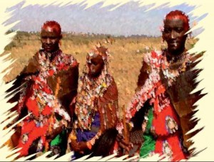 Maasai wedding story