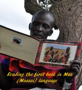 Masai, read, book, mother-tongue, folklore